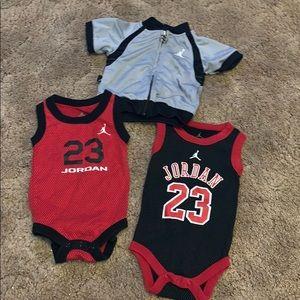 Michael Jordan baby clothes